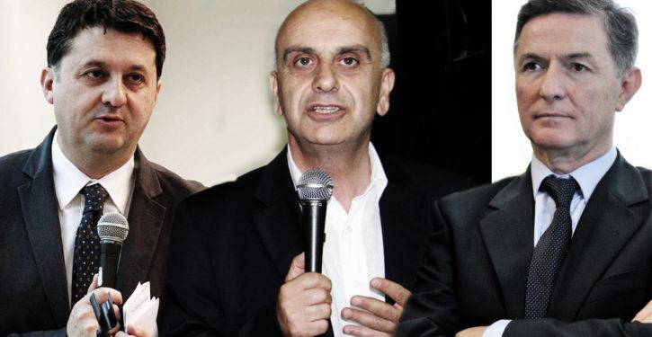 Luca Barberini, Gianpiero Bocci, Emilio Duca