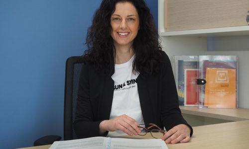 La prof.ssa Claudia Mazzeschi