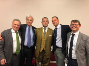 Luca Maori, Antoonio Rinaldi, Luciano Barra Caracciolo, Luca Valigi e Luca Briziarelli