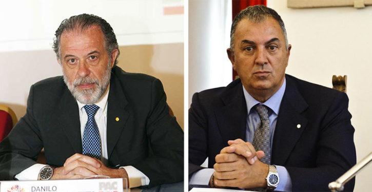 Danilo Toppetti e Claudio Alibrandi