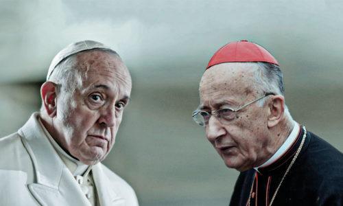Papa Bergoglio e il Cardinale Ruini